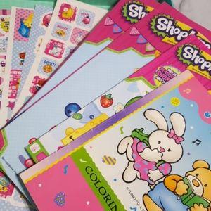 Shopkins coloring book set
